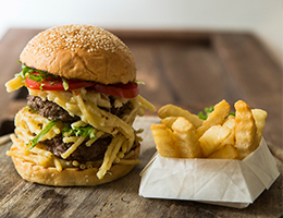 Mac & Cheese Burger Available Now at Café Kantary Bangsaen and Café Kantary Prachinburi