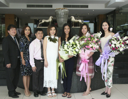 Kantary House, Bangkok Welcomes Miss Thailand World 2015