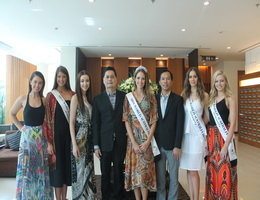 Kantary Hotel, Ayutthaya Welcomes Miss World Australia 2016