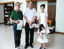 Kantary Hills Hotel Chiang Mai Welcomes Famous Thai Actor