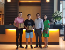 "Kantary Hotel Kabinburi  Welcomes ""Kunchim"" and ""Kunchong"""