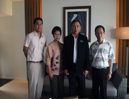Cape Panwa Hotel Phuket Welcomes Deputy Prime Minister / Minister of Transportation