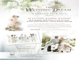 The Wedding Dream At Classic Kameo Hotel, Rayong