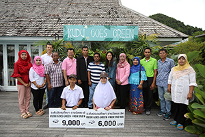 "Cape Kudu, Koh Yao Noi Organises the Event ""KUDU GOES GREEN"