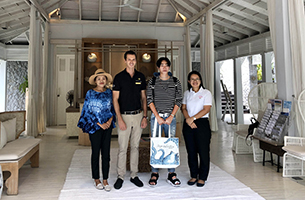 "Warm Welcome to Rising Star ""Peck Palitchoke""  at Cape Kudu Hotel, Koh Yao Noi"