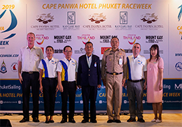 The Grand Closing Ceremony of  Cape Panwa Hotel Phuket Raceweek 2019