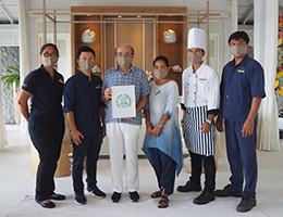 Cape Kudu Hotel, Koh Yao Noi Receives  the UNESCO Sustainable Tourism Pledge
