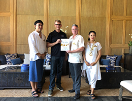 "Cape Nidhra Hotel, Hua Hin, Awarded ""Top Hotel Partner 2019"" from Schauinsland Reisen"