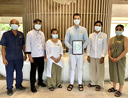 "Cape Fahn Hotel, Private Islands, Koh Samui Receives the ""Amazing Thailand Safety and Health Administration: SHA"